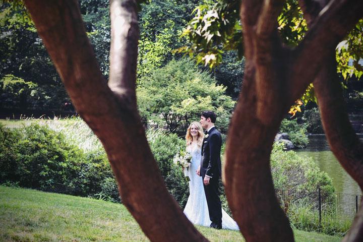 outdoor huwelijk feest tuin buiten